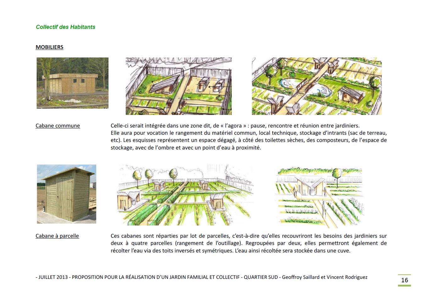 Jardin familial - manufacture