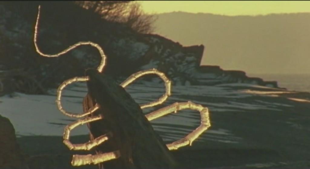 Serpentins de glace