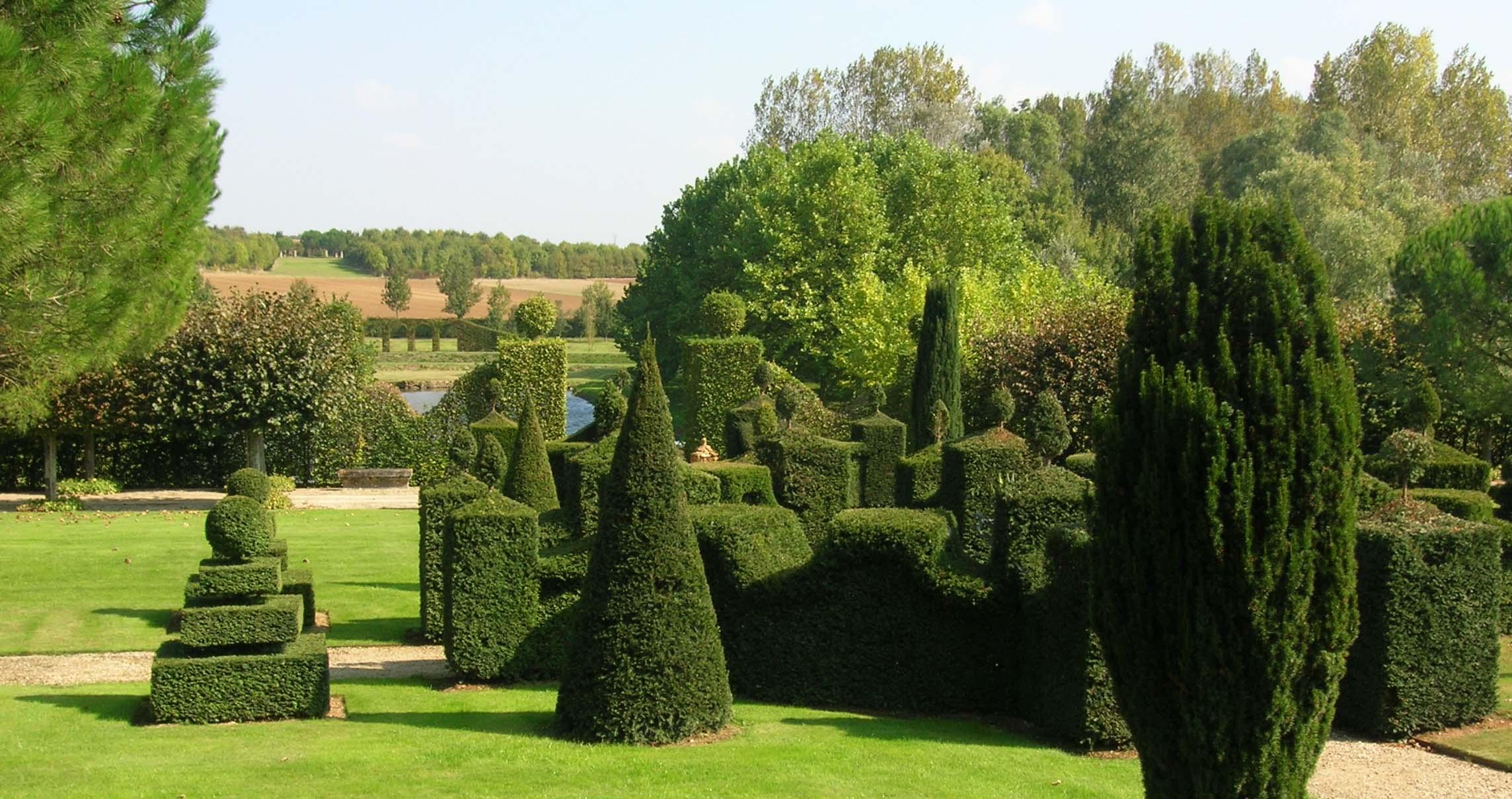 Plantations d 39 agr ment dans un jardin existant contemplavert for Jardin william christie